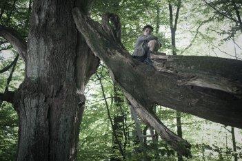 Corri ragazzo corri: Jurek, il giovane protagonista del film, in una scena