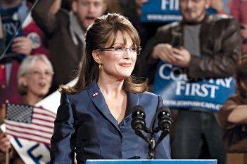 Julianne Moore è Sarah Palin in 'Game Change'