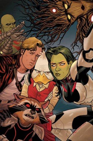 Guardiani della Galassia: la copertina del fumetto Marvel dedicato alla scena post-credits