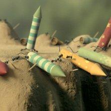 MINUSCULE - La valle delle formiche perdute: una colorata immagine del film animato