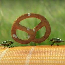 MINUSCULE - La valle delle formiche perdute: lotta spietata all'ultimo pretzel in una scena del film