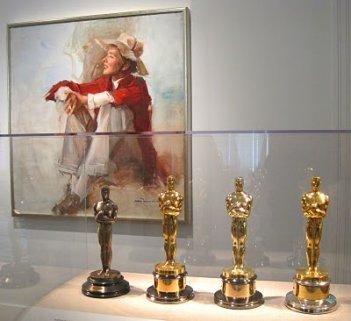 Le quattro statuette di Katherine Hepburn