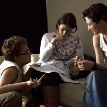 Vergine giurata: Alba Rohrwacher con Laura Bispuri sul set del film