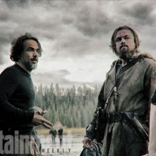 Inarritu e DiCaprio sul set di The Revenant