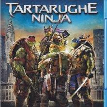 La cover blu-ray di Tartarughe Ninja