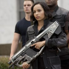 The Divergent Series: Insurgent - Zoë Kravitz in una scena del film nel ruolo di Christina