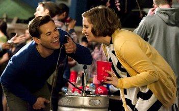 Girls: Lena Dunham e Andrew Rannells in Triggering