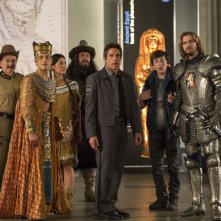 Notte al museo - Il segreto del faraone: Ben Stiller, Robin Williams e altri membri del cast del film