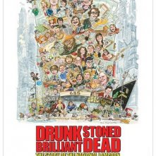 Locandina di Drunk Stoned Brilliant Dead: The Story of the National Lampoon