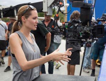 Unbroken: Angelina Jolie sul set del film