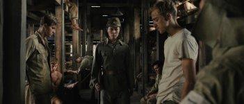 Unbroken: Takamasa Ishihara con Garrett Hedlund e Louis McIntosh in una scena del film