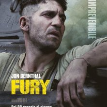 Fury: il character poster dedicato a Jon Bernthal, L'imprevedibile
