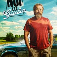 Noi e la Giulia: il character poster di Claudio Amendola (Sergio)