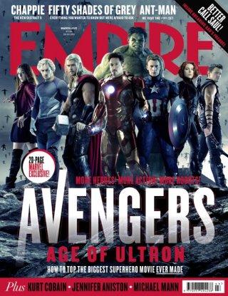 Avengers: Age of Ultron - cover di Empire (marzo 2015)