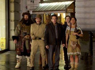 Notte al museo - Il segreto del faraone: una scena di gruppo tratta dalla commedia