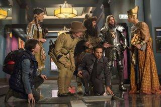 Notte al museo - Il segreto del faraone: una scena di gruppo del film