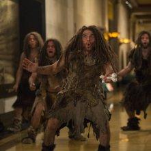Notte al museo - Il segreto del faraone: Ben Stiller nei panni di Laaa in una scena del film