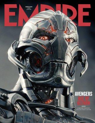 Avengers: Age of Ultron - Ultron sulla cover di Empire (marzo 2015)