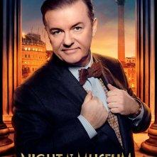Notte al museo - Il segreto del faraone: il character poster di Ricky Gervais