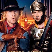 Notte al museo - Il segreto del faraone: Owen Wilson e Steve Coogan nel character poster a loro dedicato