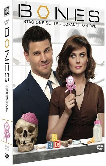 la cover del DVD di Bones - Stagione 7