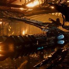 Jupiter - Il Destino dell'Universo: una scena del film