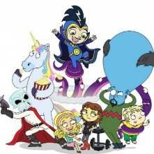 Dr. Dimensionpants: un poster per la serie animata