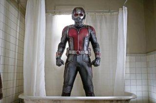 Ant-Man: Paul Rudd in una vasca da bagno