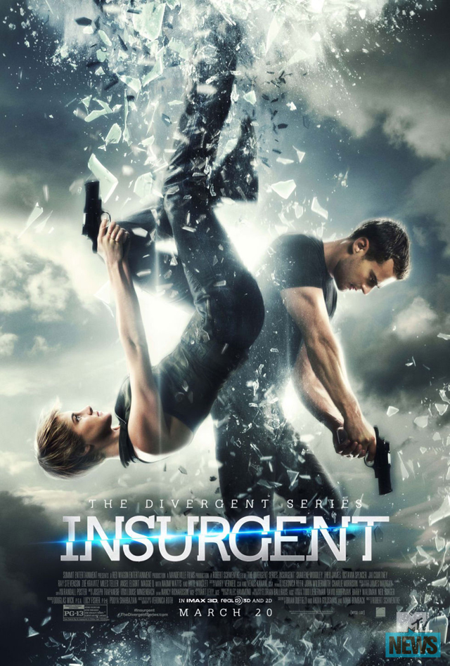 The Divergent Series: Insurgent - Poster americano
