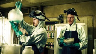 Breaking Bad - Aaron Paul e Bryan Cranston