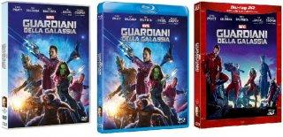 Le cover homevideo di Guardiani della Galassia