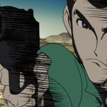 Lupin the 3rd - La donna chiamata Fujiko Mine: Lupin in una scena dell'anime