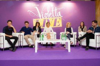 Violetta: un'immagine dalla conferenza di Gennaio 2015 a Milano