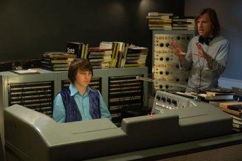 Love & Mercy: Paul Dano sul set insieme al regista Bill Pohlad