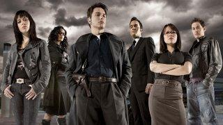 Torchwood: un'immagine promozionale che ritrae il cast