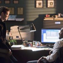 The Flash: Grant Gustin e Jesse L. Martin in The Sound and the Fury