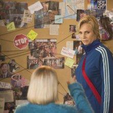 Glee: l'attrice Jane Lynch in The Hurt Locker, Part 2