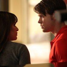 Glee: Lea Michele e Chord Overstreet in The Hurt Locker, Part 2