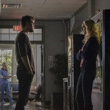 The Vampire Diaries: Paul Wesley e Candice Accola nell'episodio Prayer For the Dying