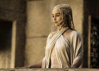 Il trono di spade: Danerys Targaryen interpretata da Emilia Clarke
