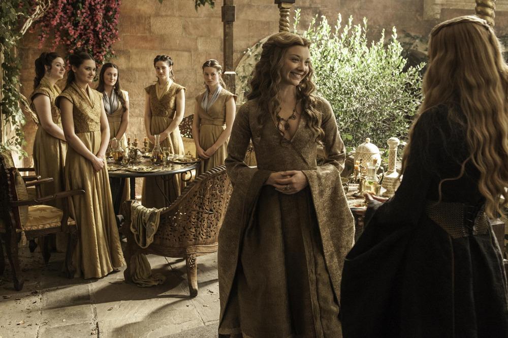 Il trono di spade: Natalie Dormer e Lena Headery interpretano Margaery Tyrell e Cersei Lannister