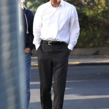 Steve Jobs: Michael Fassbender sul set nei panni di Steve Jobs