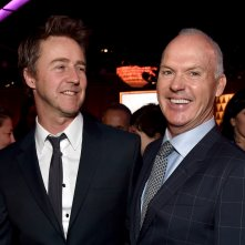 Oscar 2015 - Michael Keaton e Edward Norton al nominee luncheon