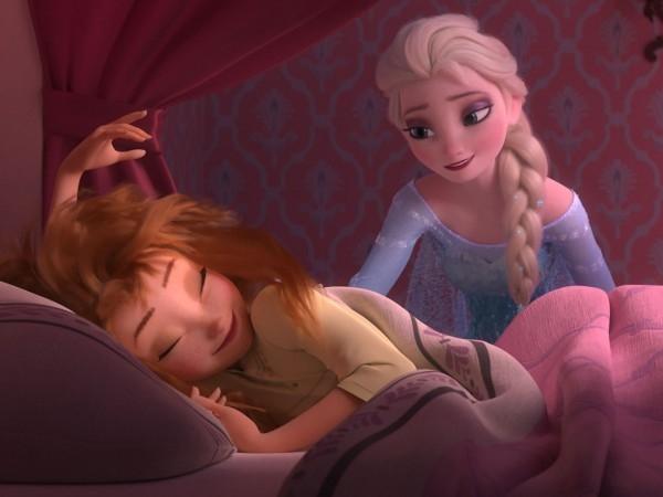 Frozen Fever: una scena del corto