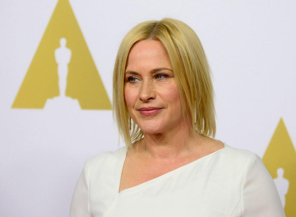 Patricia Arquette al 'nominee luncheon' per gli Oscar 2015