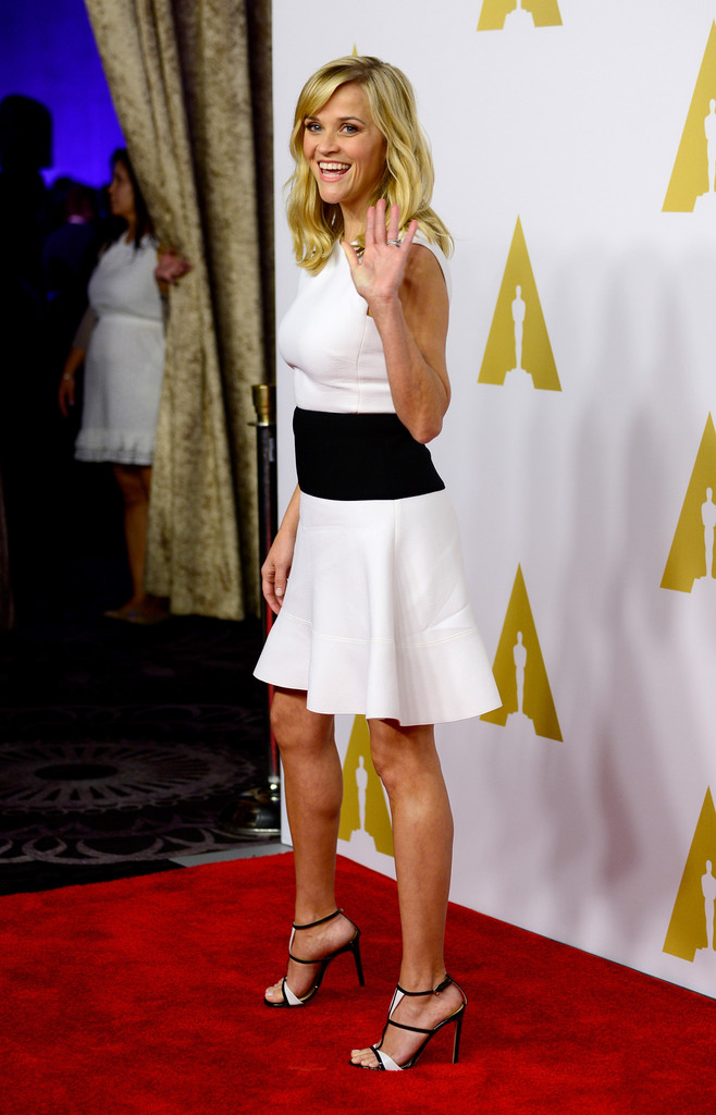 Reese Witherspoon al 'nominee luncheon' per gli Oscar 2015