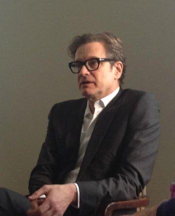 Kinsgman: Secret Service: Colin Firth alla presentazione romana del film di Matthew Vaughn