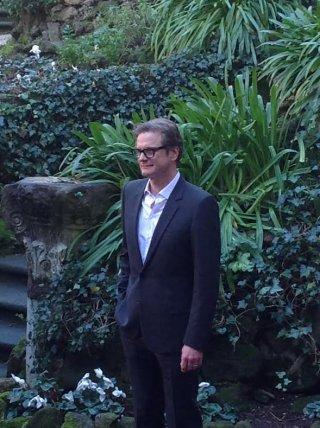 Kinsgman: Secret Service: Colin Firth alla presentazione romana del film