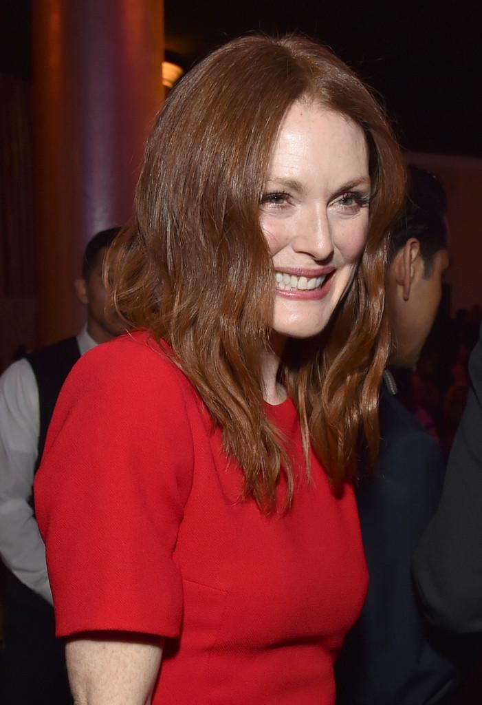Julianne Moore al 'nominee luncheon' degli Oscar 2015