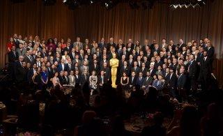 Oscar 2015 - foto di gruppo al 'nominee luncheon'